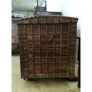 18th Century Asian Antique Grand Rajasthani Chest Preview