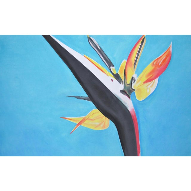 Bird of Paradise Pastel Painting by Max - Image 4 of 4