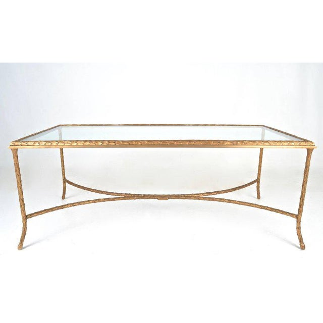 French Gilt Bronze Cocktail Table in the Style of Maison Baguès, circa 1950s - Image 2 of 7