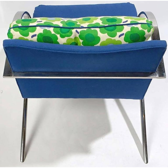 """Pair of """"Arco"""" Club Chairs In The Style Of Paul Tuttle For Sale In Chicago - Image 6 of 8"""