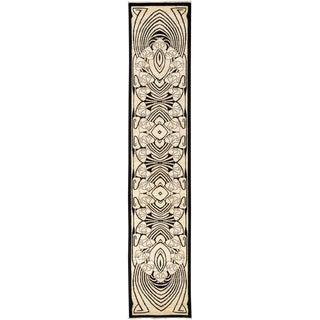 "Shalimar, Hand Knotted Runner Rug - 2' 7"" x 13' 3"" For Sale"