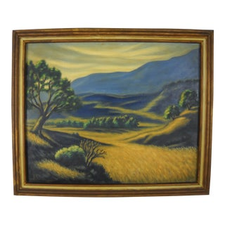 California Valley Landscape by Al Streeter For Sale
