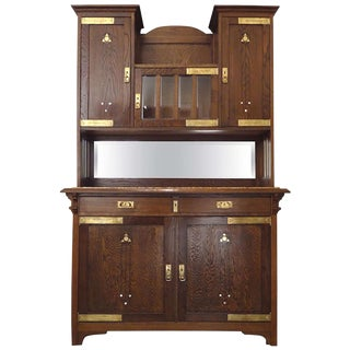 Secessionist Cabinet attributed to Moser For Sale