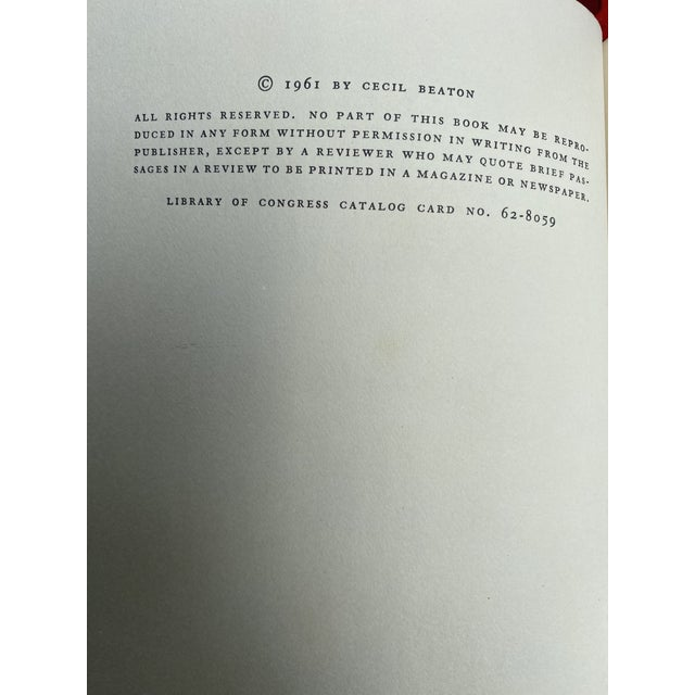Figurative Cecil Beaton's Diaries the Wandering Years First Edition Book For Sale - Image 3 of 13