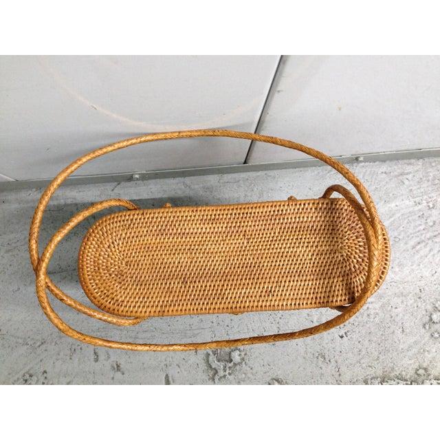 Vintage Woven Basket Purse - Image 4 of 5
