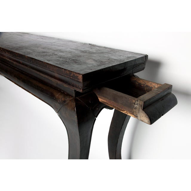 Black Qing Dyansty Wine Table For Sale - Image 8 of 13