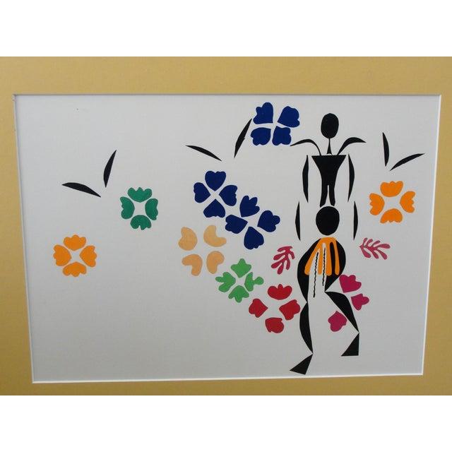 Abstract Henri Matisse Framed Print La Negresse For Sale - Image 3 of 5