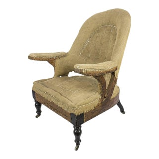 19th Century French Napoleon III Armchair
