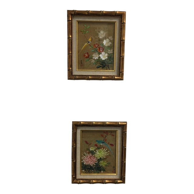 A Pair of Chinoiserie Framed Prints - Image 1 of 8