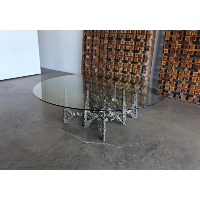 Daniel Gluck 1970s Sculptural Coffee Table by Daniel Gluck For Sale - Image 4 of 10