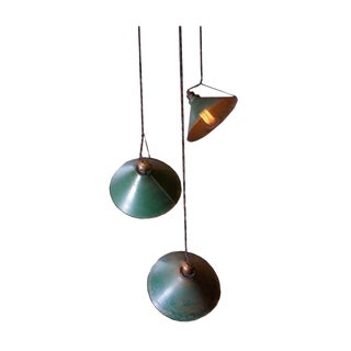 Adjustable Vintage Pendant Lights - Set of 3