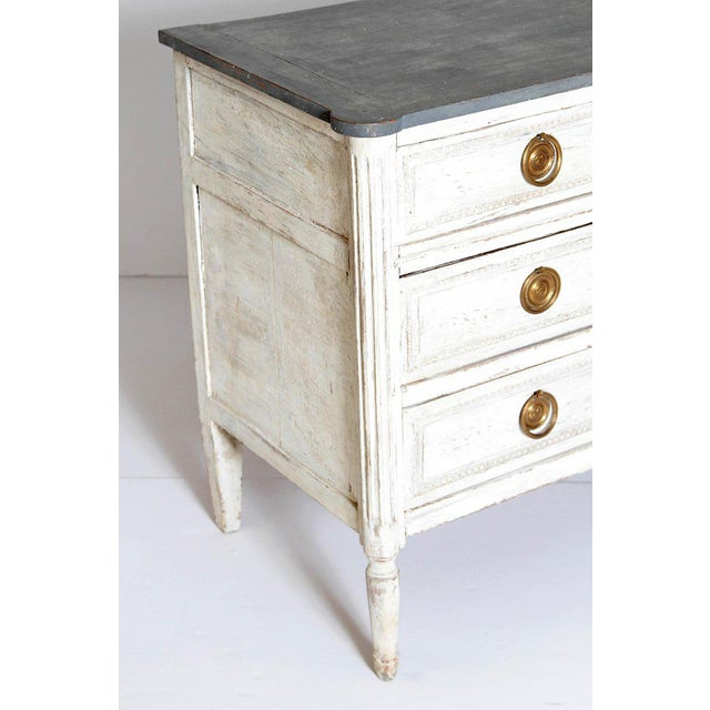 Antique French Louis XVI Style Chest of Drawers or Commode For Sale - Image 4 of 13