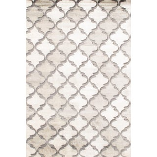 Contemporary Bamboo Silk Rug - 6' X 9' For Sale