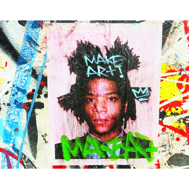 Original New York Street Art Photo, Basquiat - Image 1 of 2