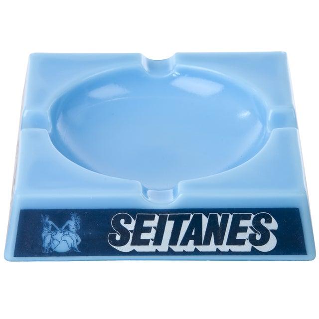 Vintage Seitanes Opalex Glass Ashtray - Image 3 of 4