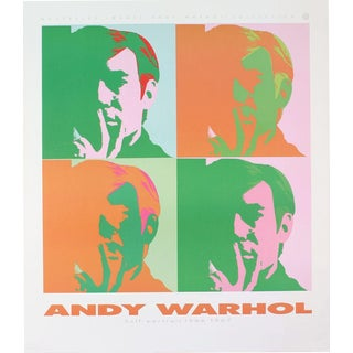 Andy Warhol-Four Self Portraits-1989 Poster For Sale