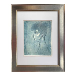 Pablo Picasso Limited Edition Lithograph - Head of a Woman   Signed 1946 For Sale