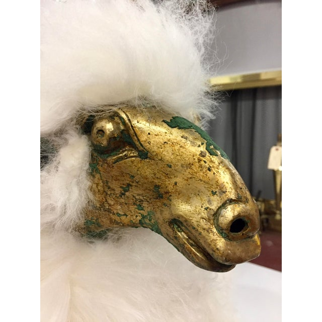 1990s Lalanne Style Solid Etched Bronze and Wool Ram Sculpture For Sale In San Francisco - Image 6 of 13