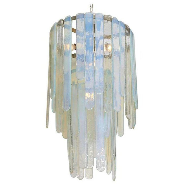 1960s Spectacular Cascading Mazzega Chandelier For Sale - Image 5 of 5