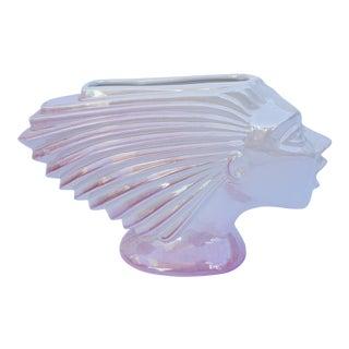 Rare Maggie Fisher Sunset Ceramics Art Deco Porcelain Head Vase