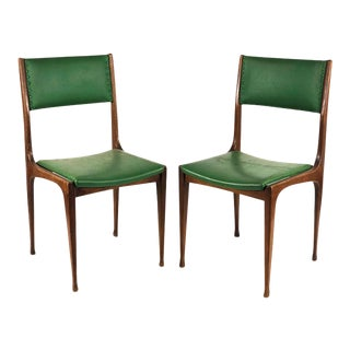 Carlo De Carli - Cassina Set of 3 Chairs by Carlo De Carli for Cassina 1959 Mod. 693. For Sale