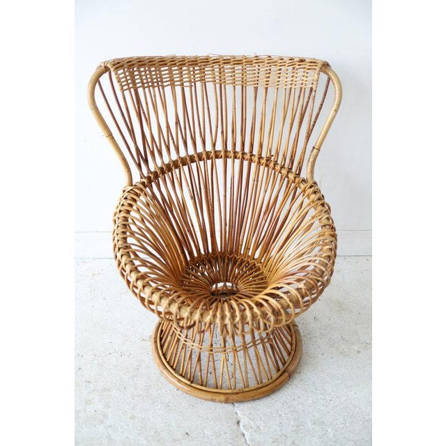 Vintage Franco Albini Margherita Chair For Sale In New York - Image 6 of 7