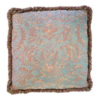 Fortuny Quilted Pillow For Sale