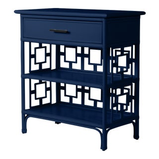 Sobe End Table - Navy Blue For Sale