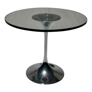 Mid-Century Modern Chrome Side Table For Sale