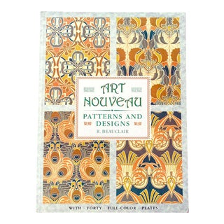 """Art Nouveau Patterns and Designs"" Poster Art Book by Rene Beauclair"
