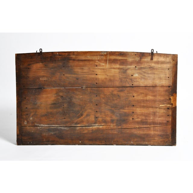 This wall display piece is from France and is made from wood and metal c. Mid-20th Century. It was used as a teaching and...