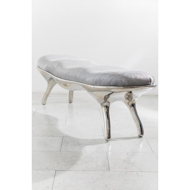 Silver Biche Bench, Usa, 2019 For Sale - Image 8 of 10