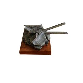 Mid Century Russell Baldwin Bronze Sculpture For Sale