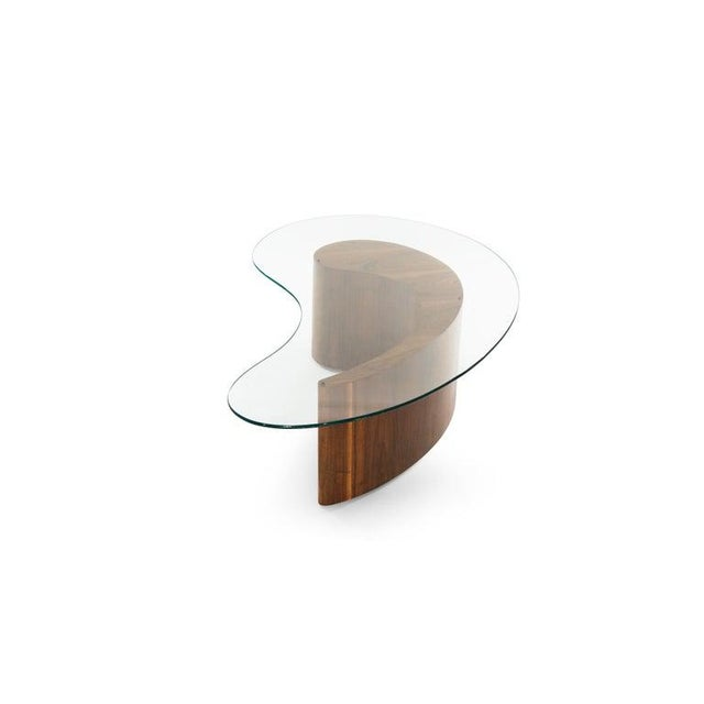 Wood Vladimir Kagan Apostrophe Coffee Table, 1950s For Sale - Image 7 of 13