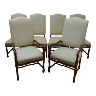 Ralph Lauren Set of 6 Dining Chairs For Sale
