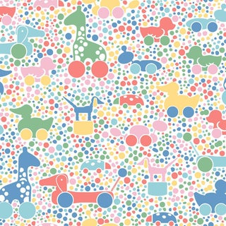 Brio Dots Wallpaper by Borastapeter Wallpaper - This Is a Sample For Sale