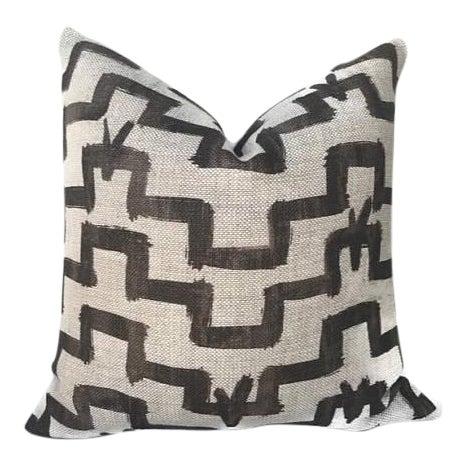 Umber Zak & Fox Tulu Pillow Cover - Image 1 of 5