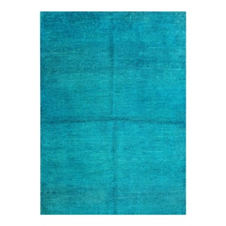 """Hand Knotted Over Dyed Oushak Rug by Aara Rugs Inc. - 3'9"""" X 5'2"""" For Sale"""