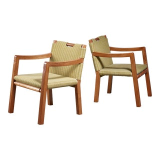 Tove & Edvard Kindt-Larsen Pair of Chairs, Denmark, 1930s For Sale