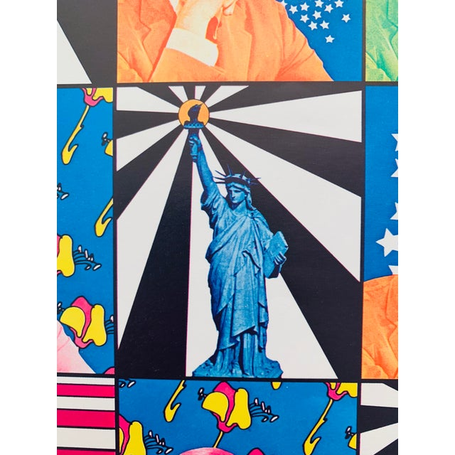 Peter Max Iconic New York City Images Print For Sale In Palm Springs - Image 6 of 10