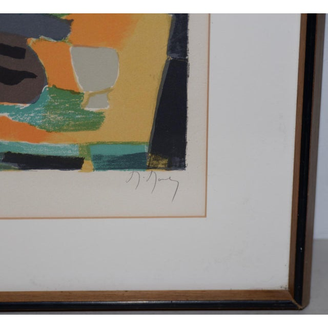 Marcel Mouly (French, 1918-2008) Vintage Lithograph Signed / Numbered C.1980s For Sale - Image 4 of 10