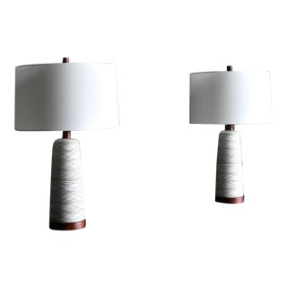 Jane and Gordon Martz Ceramic Table Lamps for Marshall Studios, Circa 1965 For Sale