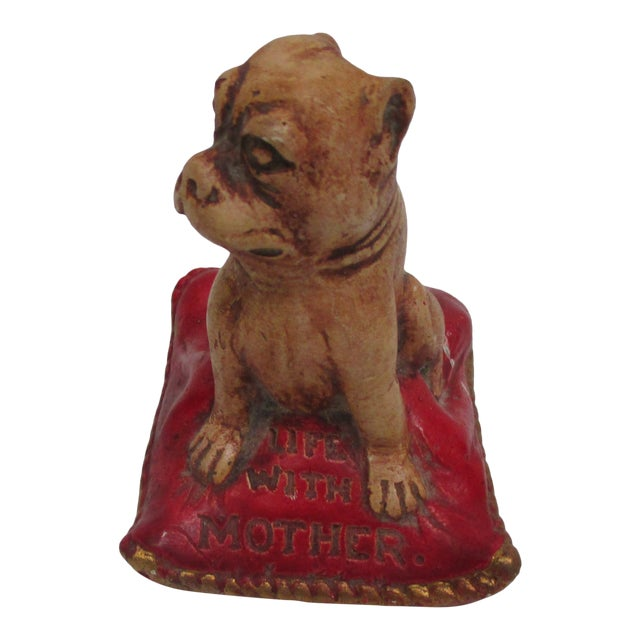 """Antiques Broadway Show Premium """"Life With Mother"""" Decorative Dog For Sale"""