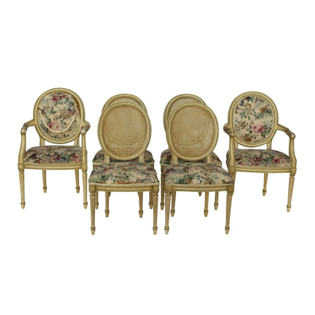 Kindel Louis XVI Style Dining Chairs- Set of 6 - Image 2 of 10