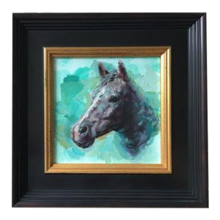 Heather Lenefsky Horse Oil Painting For Sale