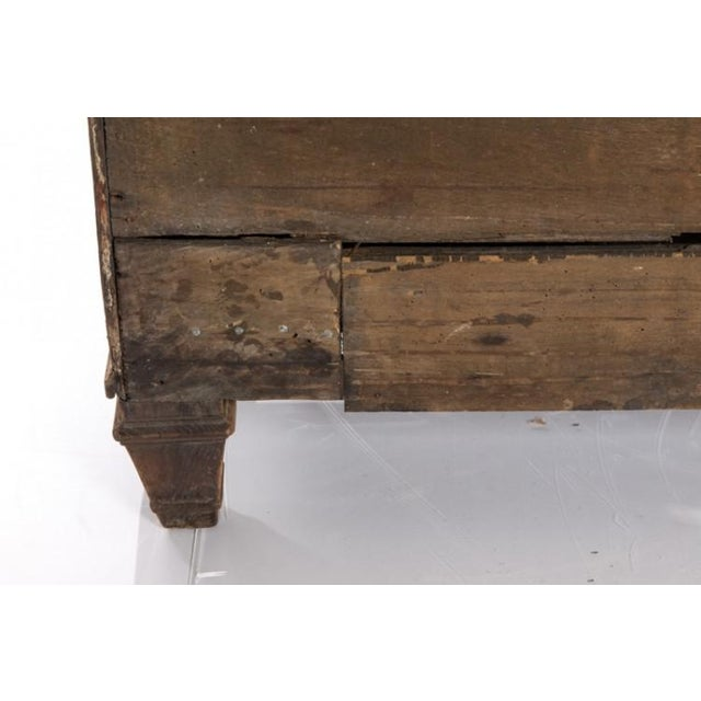 Brown 19TH CENTURY BLEACHED OAK BUFFET For Sale - Image 8 of 10
