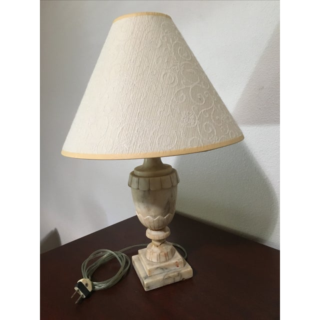 Small Antique Marble Lamp - Image 2 of 7