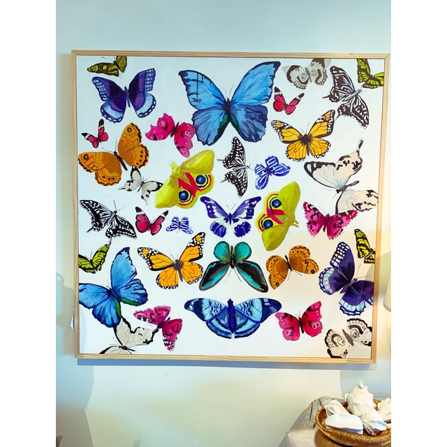 """2010s """"Butterflies - a Collection"""" Original Painting For Sale - Image 5 of 5"""