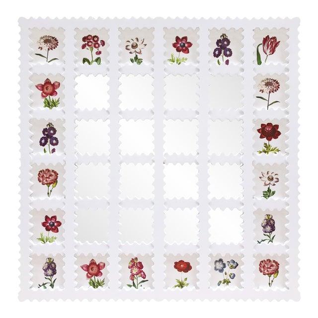 Fleur Home x Chairish Liz Marsh Lattice Mirror For Sale