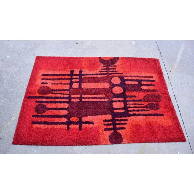 Large Bright Colorful Rug by Ege Rya - Image 2 of 5